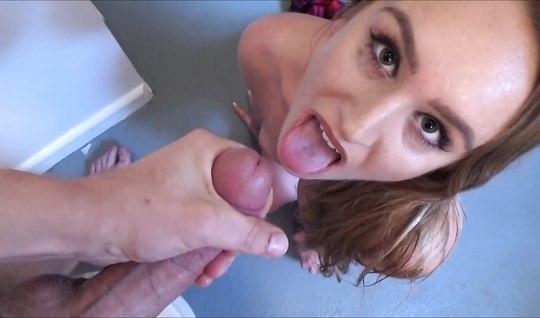 Секс с послушной девушкой от первого лица снятый на телефон